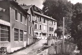 Photo historique de l'hotel entre Haute Loire et Ardèche