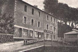 Photo historique de l'hotel entre Ardèche et Haute Loire