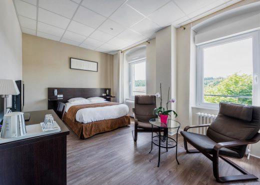 Chambre d'hotel en Haute Loire, au Chambon sur Lignon